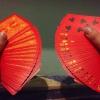 Cómo hacer un ventilador de la tarjeta de una mano