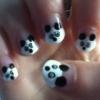 Cómo hacer Panda Nails