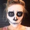 ¿Cómo hacer maquillaje esqueleto para Halloween