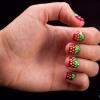 Cómo hacer Strawberry Nail Art