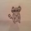 Cómo dibujar un mapache