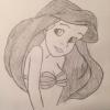 Cómo dibujar Ariel (La Sirenita)