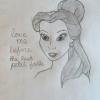 Cómo dibujar Belle De La Bella y la Bestia