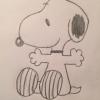 Cómo dibujar Snoopy