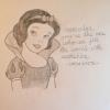 Cómo dibujar Blancanieves
