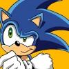 Cómo dibujar Sonic the Hedgehog en Cepillos 3