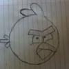 Cómo dibujar el Angry Red Bird