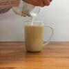 Cómo faire un El café con leche.