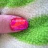 Cómo Dése una manicura Mármol colorido