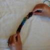 A tejer con los dedos