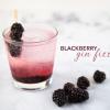 Cómo hacer un Blackberry Cocktail Gin Fizz