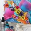 Cómo hacer un lienzo Breast Cancer Awareness