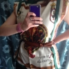 Cómo hacer una camisa de la mariposa con dos bufandas cuadradas