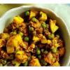 Cómo hacer un coliflor y patata al curry (Aloo Gobi)