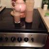 Cómo hacer un chocolate, plátano y Cookie Milkshake