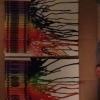 Cómo hacer una pintura Crayon