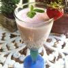 Cómo hacer un delicioso y dulce de fresa menta Smoothie