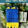Cómo hacer un Monedero Duct Tape | Manualidades bricolaje para los niños