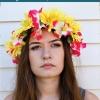 Cómo hacer una corona de flores | Bastante vendas de la flor