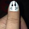 Cómo hacer un Jason o máscara de hockey de uñas de manicura polaco