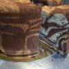 Cómo hacer un pastel de mármol