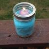 Cómo hacer un Jar Candle Holder Mason