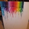Cómo hacer un derretida Crayon Lienzo