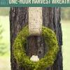 Cómo hacer una corona de una obsesión de la cosecha | Caída Coronas