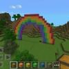Cómo hacer un arco iris en Mincraft
