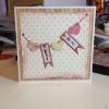 Cómo hacer una tarjeta de San Valentín Shabby Chic
