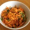 Cómo hacer un picante Ensalada #Healthyeating Zanahoria