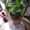 Cómo hacer un espinacas, Batido de frutas