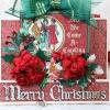Cómo hacer una tarjeta de Paso Con Gráfico 45 Cuento de Navidad