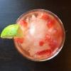 Cómo hacer un fresa y lima Agua Fresca