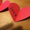 Cómo hacer un corazón de Acordeón de San Valentín