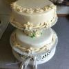 Cómo hacer un pastel de boda con la frambuesa y Toblerone