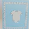 Cómo hacer una tarjeta Inspirado Wedgewood para un bebé