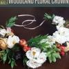 Cómo hacer una corona Woodland Flor | DIY Accesorios para el cabello