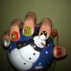 Cómo hacer Nail Design adorable para la fiesta de Navidad
