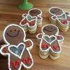 Cómo hacer adorables, de buen corazón galleta de azúcar Personas