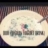 Cómo hacer una bebida afgana Yogur