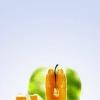 Cómo hacer una manzana con una naranja Dentro W / Photoshop