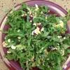 Cómo hacer un queso Ensalada de rúcula y Cabra