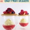 Cómo hacer un postre fácil de Frutas