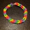 Cómo hacer un fácil Rainbow Loom Fishtail pulsera