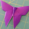 Cómo hacer una mariposa de origami