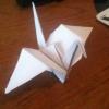 Cómo hacer un pájaro de la grúa de Origami