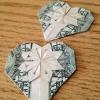 Cómo hacer un corazón Origami Desde un dólar