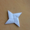 Cómo hacer un Origami Estrella Ninja