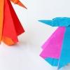 Cómo hacer un pingüino Origami